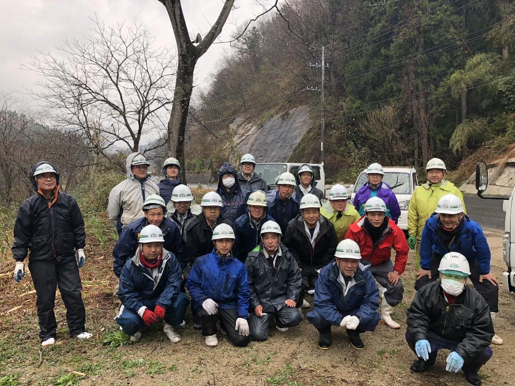 ボランティア活動2018(激寒)