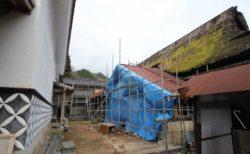 旧山崎家住宅工事 進捗状況