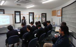 島根中央高校地域デザインコースの生徒さんが企業訪問をしてくれました。